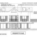 Villa under costruction with lake views